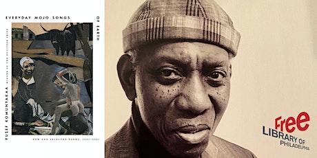 Yusef Komunyakaa | Everyday Mojo Songs of Earth: New and Selected Poems, 20 tickets