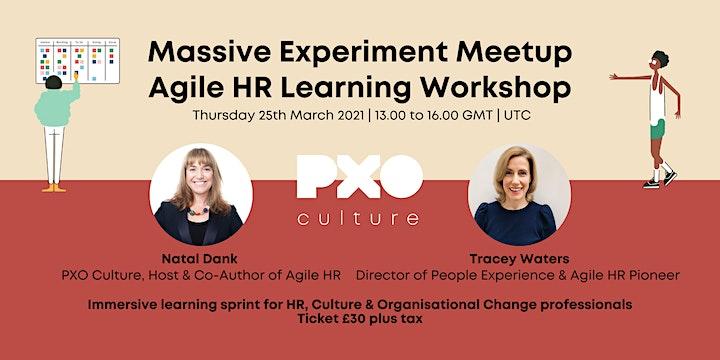 Agile HR Learning Workshop | Massive Experiment Meetup image