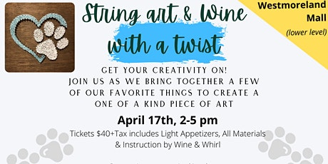 String Art & Wine with a Twist tickets