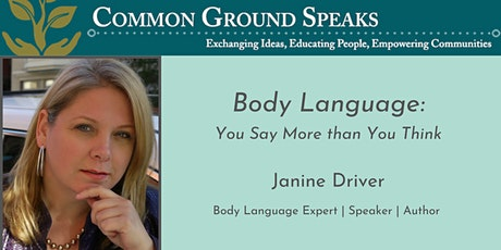 Body Language: You Say More Than You Think Tickets