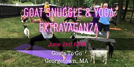 Opening Night: Goat Snuggle,  Yoga, & Live Music Extravaganza tickets