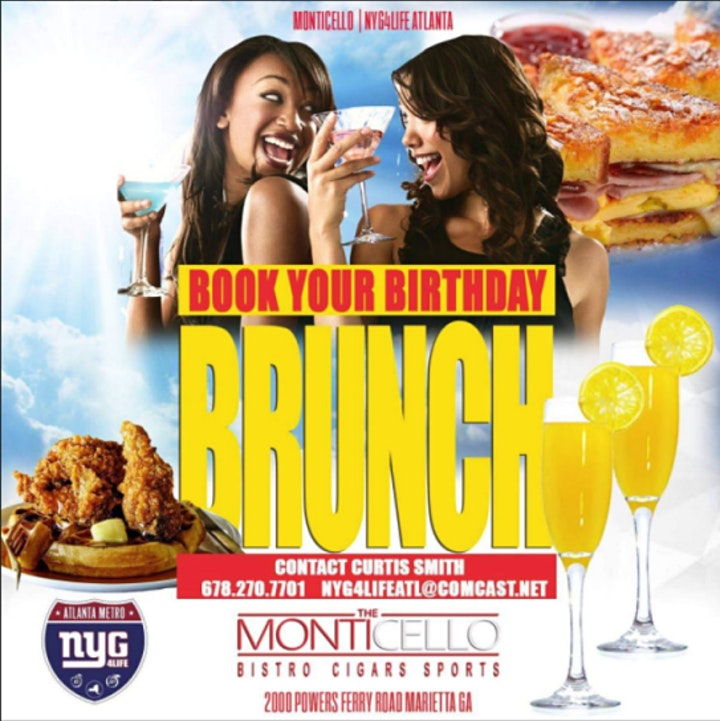 SOCIAL SUNDAYS BRUNCH + DAY PARTY @ MONTICELLO image