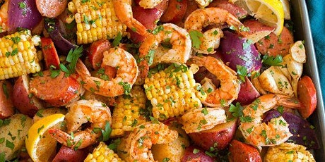 FREE Virtual Cooking Class: Seafood Boil tickets