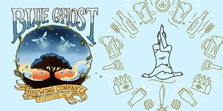 Beer Yoga @ Blue Ghost tickets