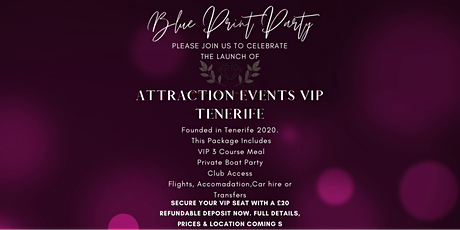 Blue Print Party Tenerife tickets