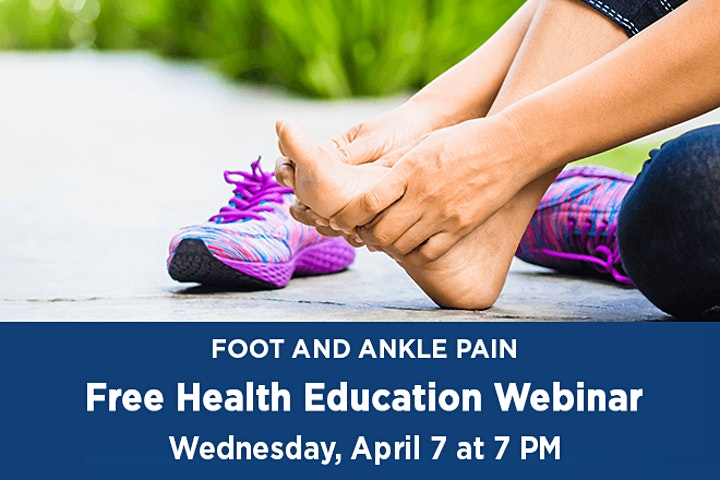 WEBINAR: Foot and Ankle Pain image