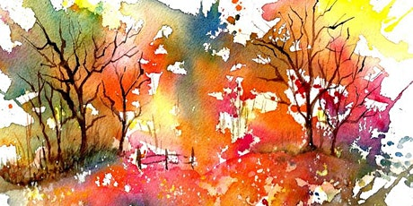 Intermediate Watercolor for Adults! tickets