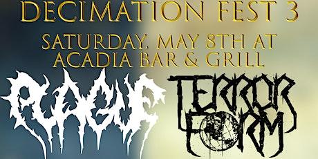 Decimation Fest 3 tickets