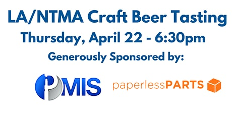 LA/NTMA Craft Beer Tasting tickets