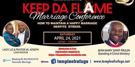 2021 Keep Da Flame Marriage Conference tickets