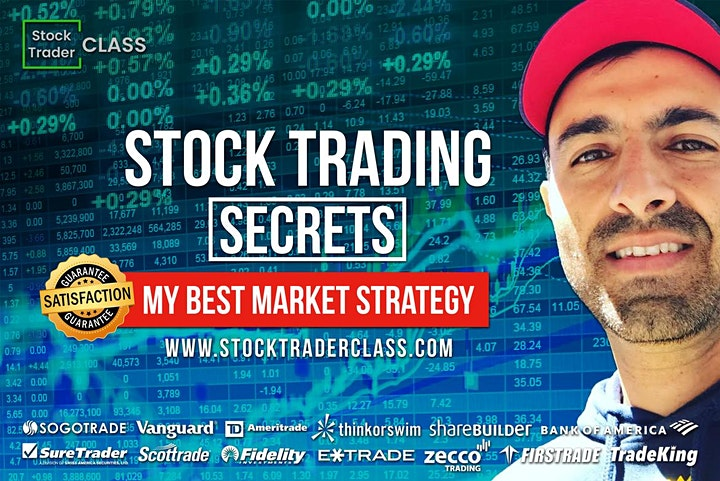 Free Stocks Day Trading Zoom Class image
