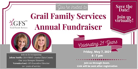 GFS Virtual Fundraiser - Celebrating 21 Years tickets