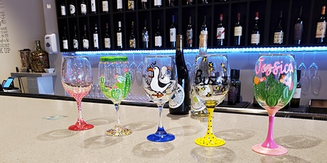 Wine Glass Painting at Peacock Wine Bar tickets