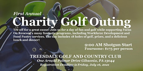 Focus On Renewal's First Annual Charity Golf Tournament tickets