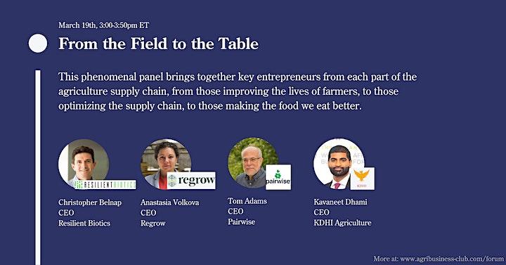 Wharton AgriBusiness Forum: Trailblazers in AgriBusiness image