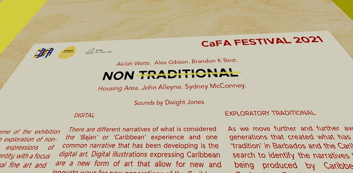 CaFA 2021: Non - Traditional Opening Reception image