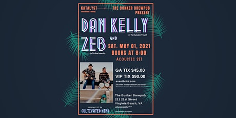 Dan Kelly of Fortunate Youth & ZEB (of tribal seeds) tickets