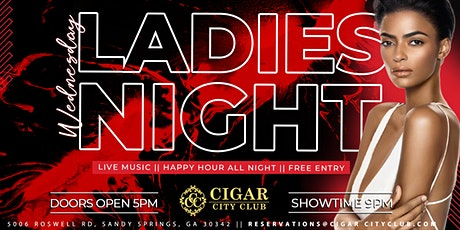 Ladies Night Wednesdays: Live entertainment w/ food & cocktail specials tickets