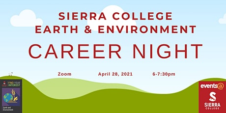 Sierra College Earth & Environment Career Night tickets