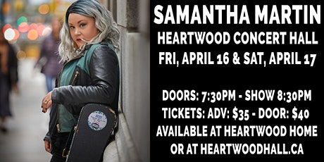 Samantha Martin - SATURDAY tickets