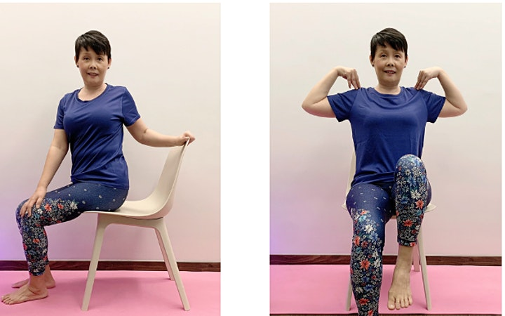 Wellness Exercise at Simei in April image