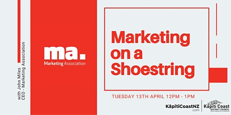 Marketing on a Shoestring tickets