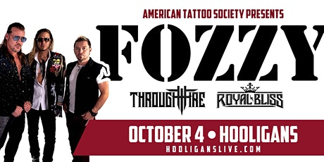 Fozzy w/ Through Fire & Royal Bliss tickets