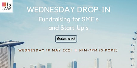 Wednesday Drop-In - Fundraising for SMEs & Start-ups tickets