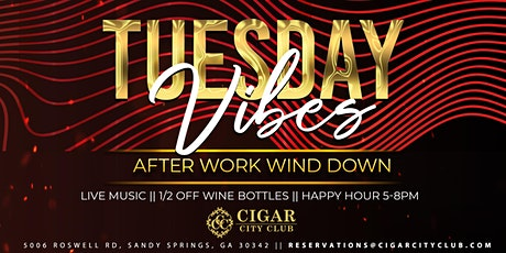 Tuesday Vibes: Live Music After Work Wind Down tickets