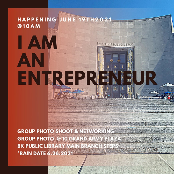 I Am An Entrepreneur Group Photo image