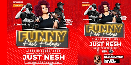 Funny First Fridays: Just Nesh tickets