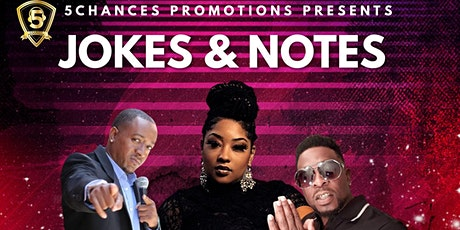 5Chances Presents Jokes & Notes tickets