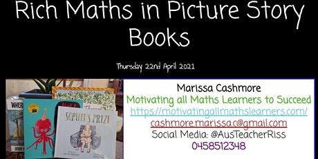 Rich Maths in Picture Story Books tickets