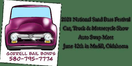 National Sand Bass Festival Auto Show and Swap Meet tickets