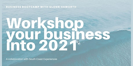 Business Bootcamp with Glenn Haworth tickets
