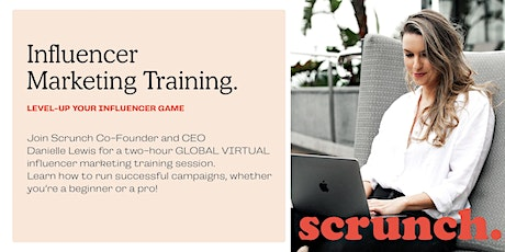 GLOBAL VIRTUAL Influencer Marketing Training tickets