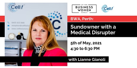 Perth, BWA: Sundowner with a Medical Disrupter tickets