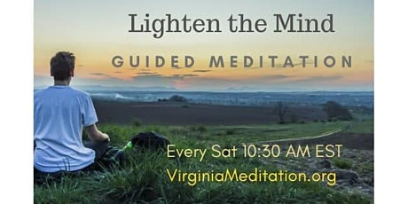 Free, Guided Online Meditation -Lighten the mind tickets
