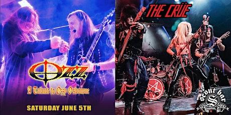 OZZ- a tribute to Ozzy Osbourne + THE CRUE- a tribute to Motley Crue tickets