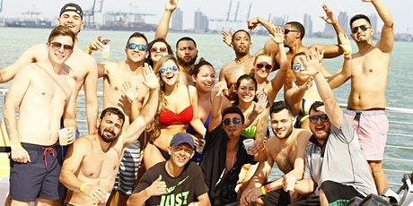 SPRING BREAK - Unlimited drinks booze cruise - Miami Party Boat tickets