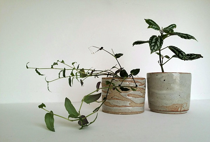 Mini Planter | Pottery Workshop w/ Siriporn Falcon-Grey image