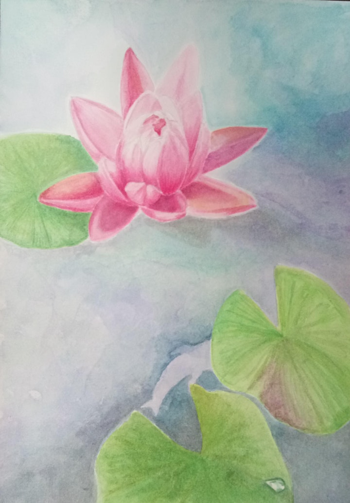 Watercolour Painting Course(Beginners)starts  May 3 (8 sessions) image