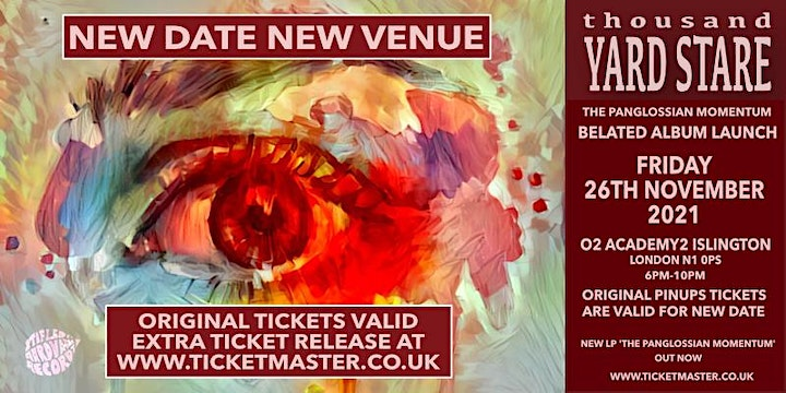 THOUSAND YARD STARE - LP LAUNCH SHOW - NEW DATE VENUE! O2 ACADEMY2 LONDON image