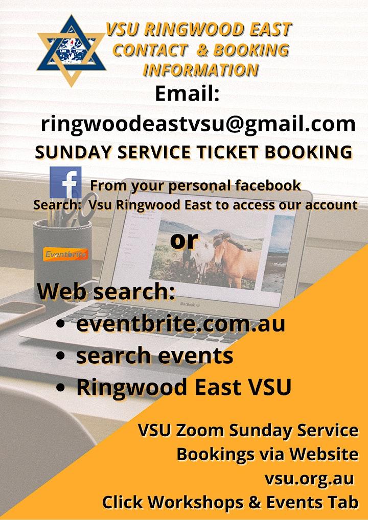 Ringwood East VSU Sunday Service image