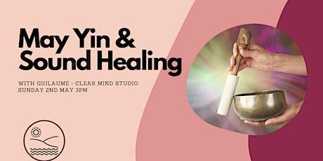 May Yin & Sound healing tickets
