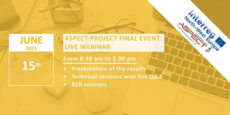 ASPECT project final event tickets