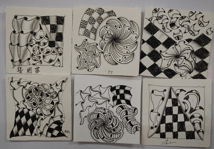 Zentangle Art Course starts  April 9  (8 sessions) image