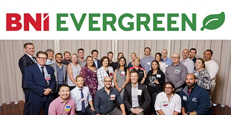 BNI Evergreen Visitor tickets 13th June 2021 tickets