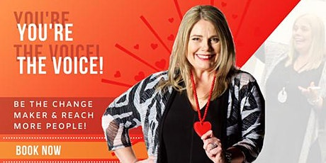 Geelong Free Public Speaking Training - You're the Voice tickets