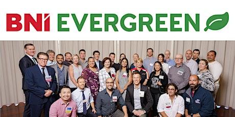 BNI Evergreen Visitor tickets 21st September 2021 tickets